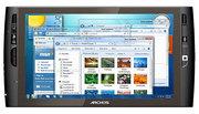 Планшет Archos 9: сенсорный экран 9 дюймов,  Intel Atom и Windows 7