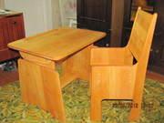 Комплект стол и стульчик для занятий детей