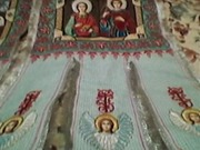 Продам церковные хоругви ручной вышивки крестиком и бисером