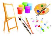 Материалы для творчества,  живописи,  графики,  декора,  хобби