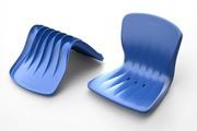 Пластиковые сидения,  кресла стадионные для  трибун,