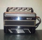 Баян Рубин-5 чёрный