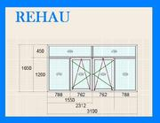Балконные рамы Rehau