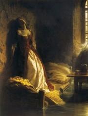 картина К.Д Флавицкого Княжна Тараканова (копия)