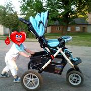 продам нашу колясочку после одного ребенка capella s 901