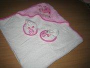 Продам детское полотенце с капюшоном (от 0-12 мес.)