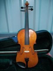 Скрипка 4/4 Mathias Wornie Mittenwald an der Lsar Аnno 1920