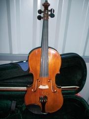 Скрипка 4/4 реставрированная копия Амати