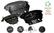 Защита двигателя Кольчуга Audi A3 Typ 8P 2004-2012