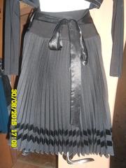 Продам плиссированую юбку
