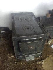 Твердотопливный котел КТ 180 П(с двухконфорочной плитой)
