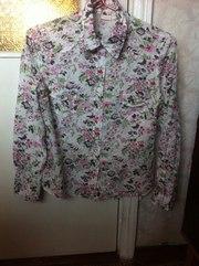 продам рубашку, размер 10(38), вцетастая, качество отличное, отлично носит