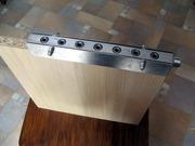 Шаблон кондуктор под конфирмат для ДСП толщиной 16 и 18мм. Длина 20см.