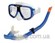 Набор для плавания Reef Rider интекс Intex от 8 лет: маска,  трубка