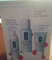 Набор косметики для ухода за проблемной кожей Clinique Anti-blemish