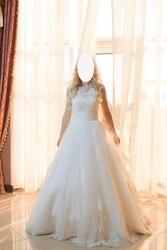 Свадебное платье DOMINISS (болеро,  кольца в комплекте)