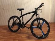 Велосипед с летыми дисками