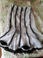 Нарядная юбка с подкладкой