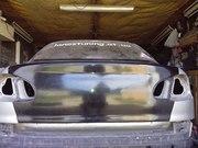 Крышка багажника ЗАЗ Daewoo Ланос  Сенс без ниши под номер (шейвинг)